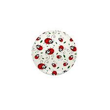 Cute Ladybug pattern Mini Button