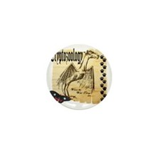 Cryptozoology Where The Wild Things Ar Mini Button