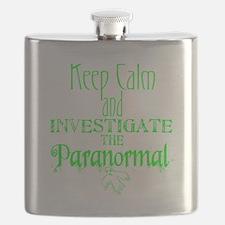 Keep Calm Paranormal Investigator Flask