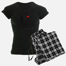 I HEART SASQUATCH T-SHIRTS A Pajamas