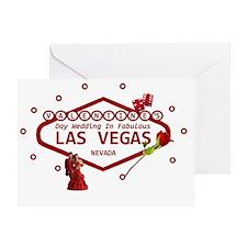 Valentines Day Wedding In Las Vegas  Greeting Card