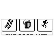 Jogging-AAX1 Bumper Sticker