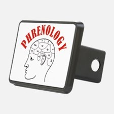 Phrenology head chart Hitch Cover