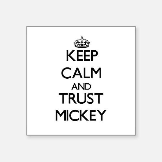 Keep Calm and TRUST Mickey Sticker