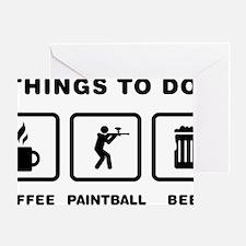 Paintball-ABH1 Greeting Card