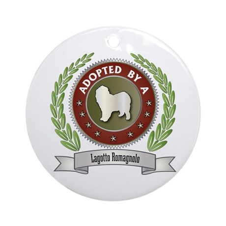 Lagotto Adopted Ornament (Round)