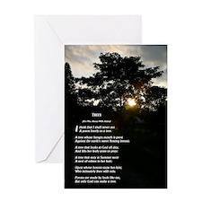 Trees by Joyce Kilmer Greeting Card