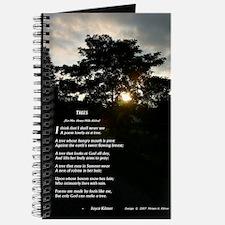 Trees by Joyce Kilmer Journal