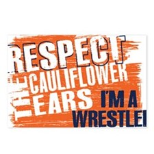 Respect Cauliflower Ears Postcards (Package of 8)