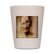 William S. Burroughs  Shot Glass