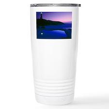 Dusk view of lighthouse Travel Mug