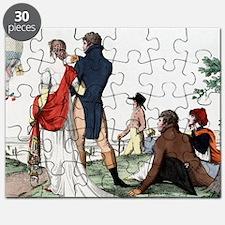 Early balloon flight, 1802 Puzzle