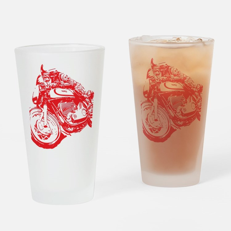 Norton Cafe Racer Drinking Glass