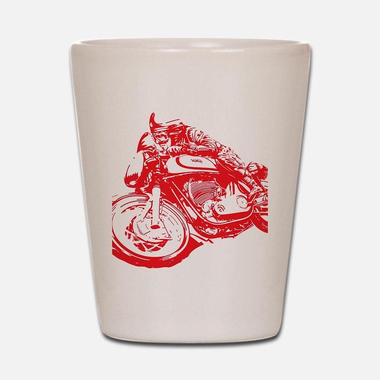 Norton Cafe Racer Shot Glass