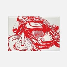 Norton Cafe Racer Rectangle Magnet