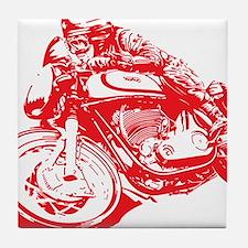 Norton Cafe Racer Tile Coaster