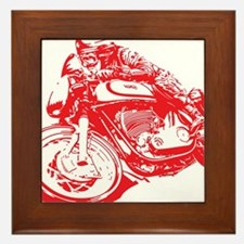 Norton Cafe Racer Framed Tile
