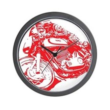 Norton Cafe Racer Wall Clock
