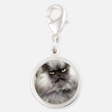 spreadthefrown Silver Round Charm