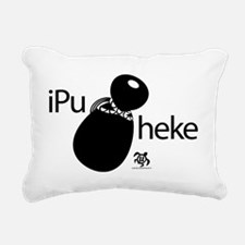 iPu_Heke Rectangular Canvas Pillow