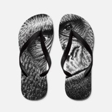 Gorilla Throw Pillow Flip Flops