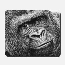Gorilla Throw Pillow Mousepad