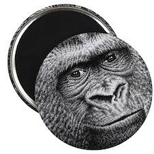 Gorilla Throw Pillow Magnet