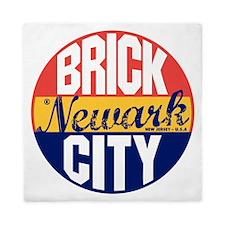 Newark Vintage Label B Queen Duvet