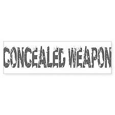 concealed Bumper Sticker