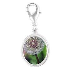 ipadMini_Floral_3 Silver Oval Charm