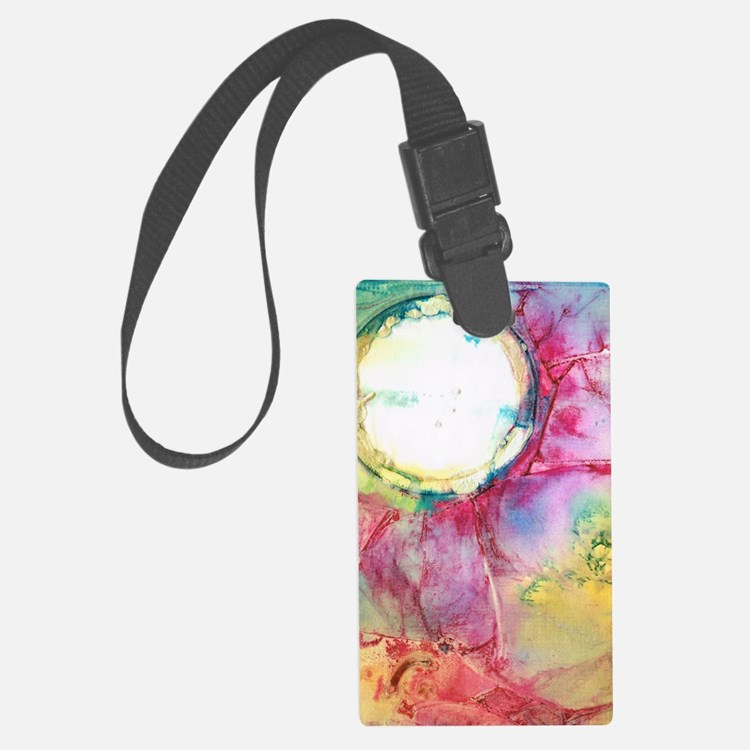 Silver Moon 3 Luggage Tag
