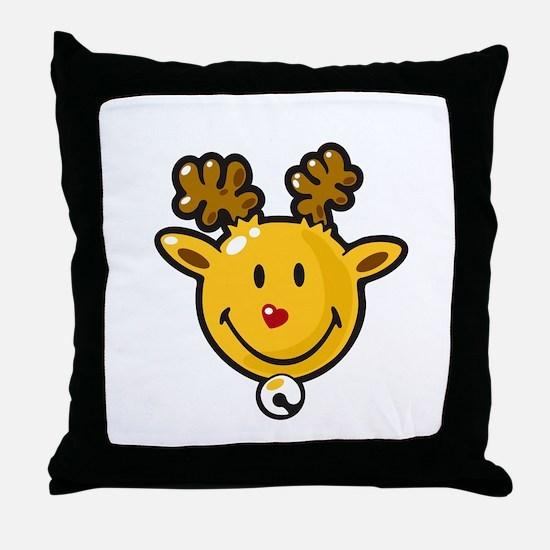 Happy Glow Throw Pillow