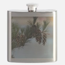 ipadMini_PineCones_2 Flask