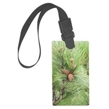 ipadMini_PineCones_1 Luggage Tag