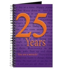 25 Year Recovery Birthday Journal