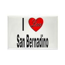 I Love San Bernadino Rectangle Magnet (10 pack)