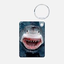 great white shark Keychains