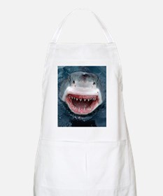 great white shark Apron