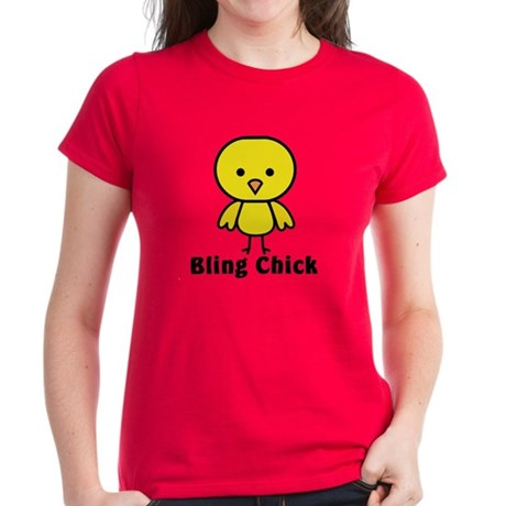 Bling Chick Women's Dark T-Shirt