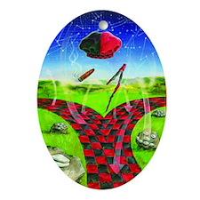 Elegba Oval Ornament