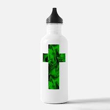 Green Irish Catholic C Water Bottle