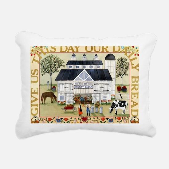 daily bread 2 Rectangular Canvas Pillow