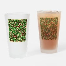 Ladybugs and Ivy on Sunny Yellow Drinking Glass