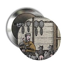 """Angry Racoons 2.25"""" Button"""