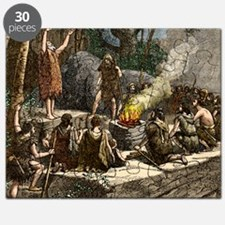 Early use of fire Puzzle