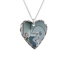 Angry Fin-less Shark Necklace