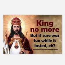 King No More Postcards (Package of 8)