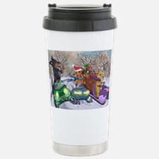 Snow Mobile Wieners Travel Mug