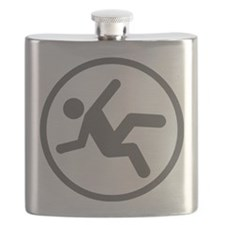 Funny Daredevil Clumsy Shirt Flask