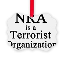 NRA Terrorist Ornament